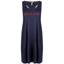 244e3315f Tommy Hilfiger šaty přes plavky Tommy Short Tank Dress tmavě modrá