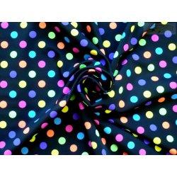 5c60cb0f5921 úplet plavkovina barevné puntíky - 80%Polyamid 20%Spandex ...
