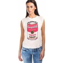 Pepe Jeans tričko SUNDY béžová béžová