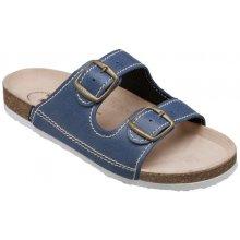 Zdravotní pantofle SANTÉ modrý ee9dafa7f5