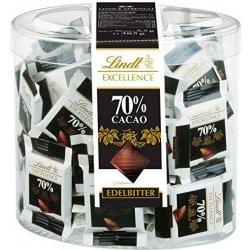 Lindt Hořká čokoláda mini se 70% kakaa 70 x 5,5g