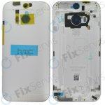 Kryt HTC One M8 zadní stříbrný