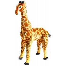 Plyšová žirafa 91 cm stojící možno sedět Heureka.cz