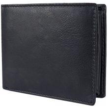 7caad55c44 W Brown International Pánská kožená peněženka JBNC 33 černá