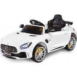 Toyz elektrické autíčko Mercedes GTR 2 motory bílá
