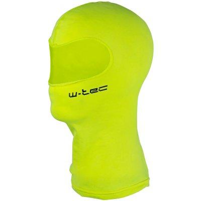 Víceúčelová kukla W-TEC Bubaac, fluo žlutá, S/M (55-58)