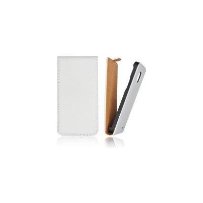 Pouzdro ForCell Slim Flip LG E610 Optimus L5 bílé