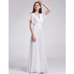 Dámské svatební šaty Dlouhé svatební šaty s rukávem jednoduché bílá e7f2d39c1f2