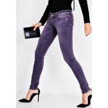 Basic Fialové kalhoty - FD244 6e66823826
