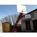 Ochranný kryt na streetbalovou konstrukci pojízdnou, vysazení 225 cm