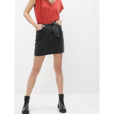 Noisy May džínová sukně Kyra černá