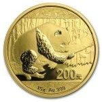 Panda 2016 Zlatá mince 15 g