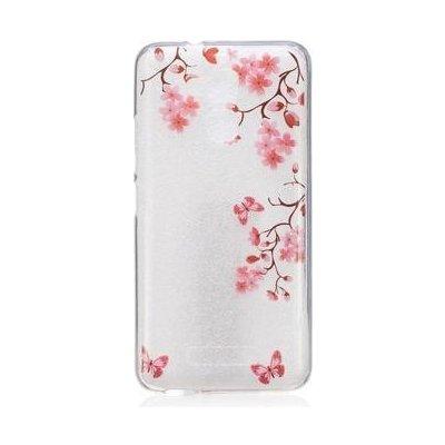 Pouzdro Softy gelové Asus Zenfone 3 Max ZC520TL - motýlci