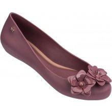 7674e7962a Zaxy vínové baleríny Flower Fem Tile Burgundy