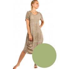 YooY dámské letní plážové šaty zelená ba97c7b4c6