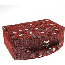 JKBox Cube Red SP290-A10 šperkovnice