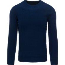 Tmavě modrý fleecovy sveter (wx1005)