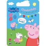 Peppa Pig Kreativní set omalovánky a samolepky