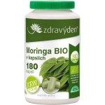 Moringa vegan kapsle RAW/BIO 180 ks