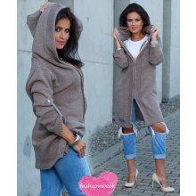daa0aeab512 Fashionweek Dlouhý pevný svetr