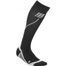 CEP běžecké podkolenky dámské černá   šedá f2d75efe43