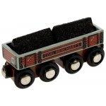Bigjigs Dlouhý vagónek s uhlím