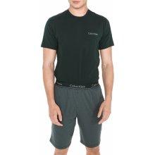 498bf4bb5 Calvin Klein pánské pyžamo krátké zelené