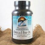 Source Naturals Omega-3 rybí olej Arctic Pure 60 kapslí