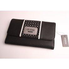 57a4bcc35e4 Guess Dámská prošívaná peněženka SWVG6109670-BLA černá