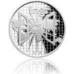 Česká mincovna Stříbrná titulární medaile Ing. s věnováním proof 42 g