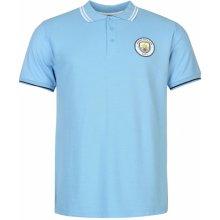 Source Lab Manchester FC Polo Shirt Mens Sky