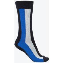 Tommy Hilfiger barevné pánské ponožky Stripe Grey/Black