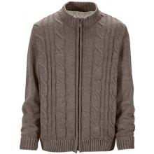 BABISTA Pletený svetr sv.hnědá