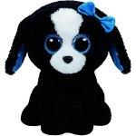 TY Beanie Boos Tracey černo bílý pes 15 cm