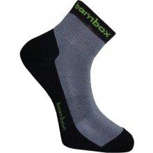 BX-2 ANKLE bambusové kotníčkové ponožky BAMBOX černá