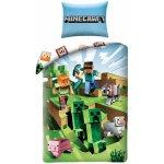 HALANTEX povlečení Minecraft Farma Bavlna 140x200 70x90