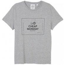 Cheap Monday Box Logo Tee Grey