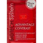Vellie Advantage Contrast růžová/červená barevný melír na vlasy 15 g