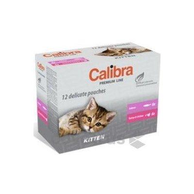CALIBRA CAT KAPSA PREMIUM KITTEN MULTIPACK 12 X 100 G