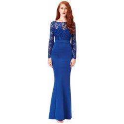 6b0d61cf1fa Goddess Dlouhé plesové šaty EVELYN ROYALBLUE Královská Modrá ...