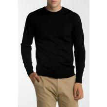 Gant Pánský svetr FINE MERINO CREW černá S