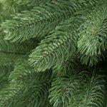 TecTake 402823 Umělý vánoční stromek 180 cm 742 konečky a vystřikované... PVC