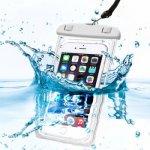 Pouzdro SES Univerzální vodotěsné Apple iPhone 6 7 8 X - bílé