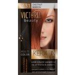 Victoria Beauty Keratin Therapy Tónovací šampón na vlasy V 31, Chestnut, 4-8 umytí