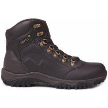 Gelert Leather Boot Mens Walking Boots Brown