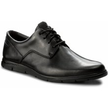 Polobotky CLARKS Vennor Walk 261317487 Black Leather
