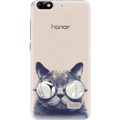 Pouzdro iSaprio Crazy Cat 01 - Huawei Honor 4C