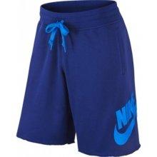 Nike AW77 FT ALUMNI short Pánské kraťasy 678568-457 modré