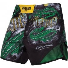 MMA šortky Venum Crocodile black GREEN 58b0f26196