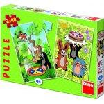 Dino Puzzle Krtečkovy dobroty 2x48 dílků